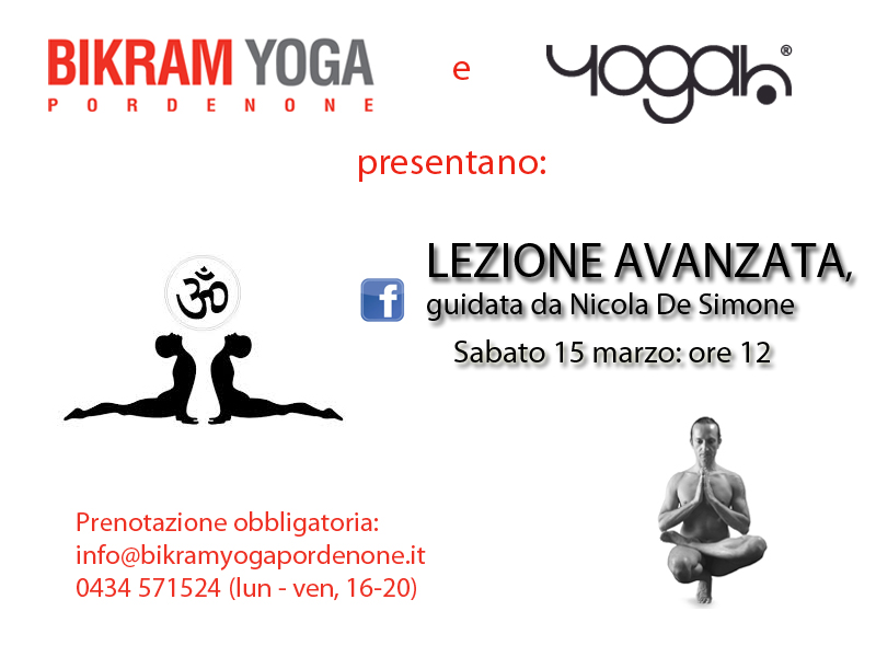 Workshop avanzato Bikram Yoga Pordenone