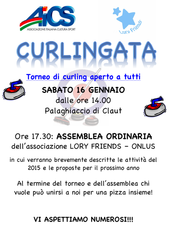 Curlingata Lory Friends